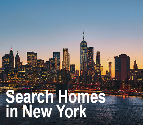 Search For Homes in New York